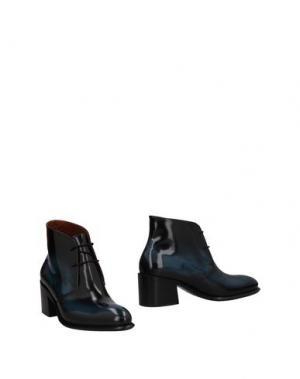 Полусапоги и высокие ботинки INK. Цвет: грифельно-синий