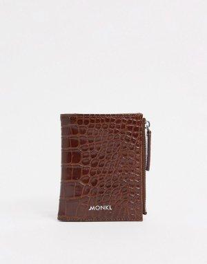 Коричневый бумажник Britta Monki