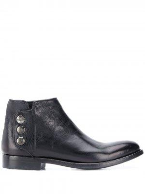 Ботинки на кнопках Alberto Fasciani. Цвет: черный