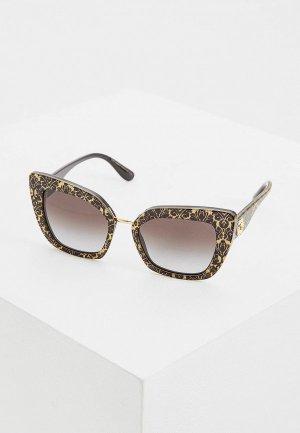 Очки солнцезащитные Dolce&Gabbana DG4359 32148G. Цвет: желтый