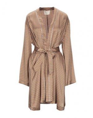 Легкое пальто MOMONÍ. Цвет: коричневый