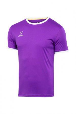 Футболка футбольная Camp Jogel. Цвет: фиолетовый, белый