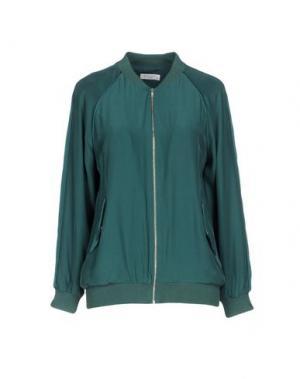 Куртка EQUIPMENT. Цвет: зеленый