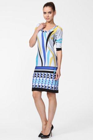 Платье Analili. Цвет: серый