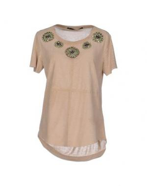 Блузка ANNARITA N. Цвет: бежевый
