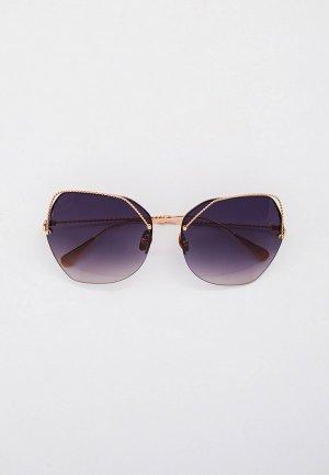 Очки солнцезащитные Baldinini BLD 2004 102 GOLD. Цвет: золотой