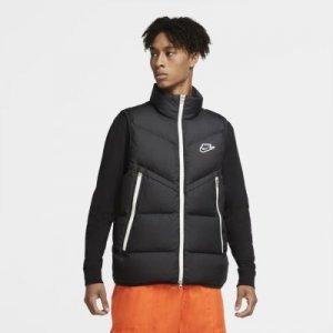 Мужской жилет Sportswear Down-Fill Windrunner - Черный Nike