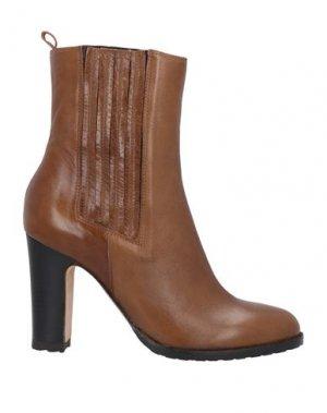 Полусапоги и высокие ботинки J|D JULIE DEE. Цвет: желто-коричневый