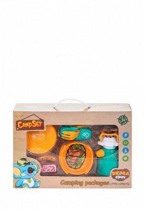 Набор игровой Givito детская посуда Туриста для пикника 6 предметов. Цвет: разноцветный