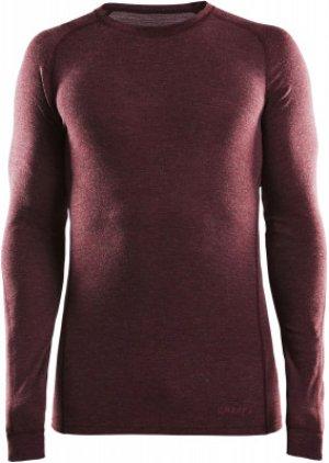 Термобелье верх мужское Merino 180, размер 46-48 Craft. Цвет: красный