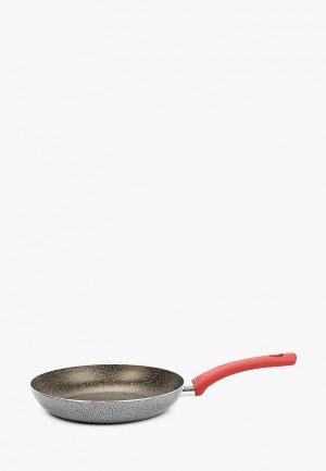 Сковорода Moneta MILANO, 24 см. Цвет: серый