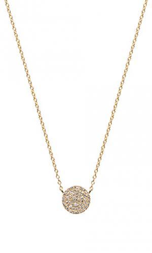 Ожерелье Sachi. Цвет: металлический золотой