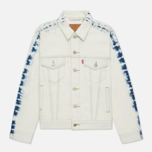 Женская джинсовая куртка Levis Ex-Boyfriend Trucker Levi's. Цвет: белый