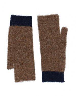 Перчатки ALESSIA SANTI. Цвет: верблюжий