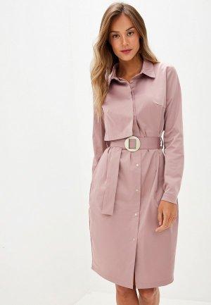 Платье Adzhedo. Цвет: розовый
