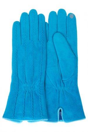 Перчатки Dali Exclusive. Цвет: голубой