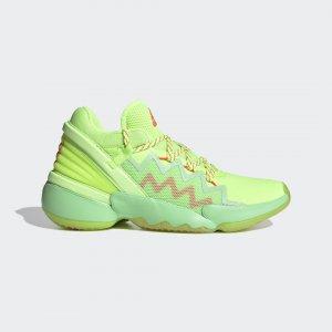 Баскетбольные кроссовки D.O.N. Issue #2 Spidey Sense Performance adidas. Цвет: красный