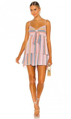 Мини платье lorinne SAYLOR. Цвет: розовый