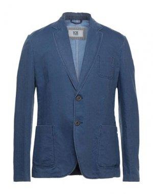 Пиджак ICEBERG. Цвет: синий
