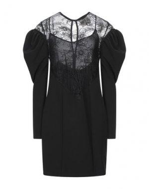 Короткое платье ANIYE BY. Цвет: черный