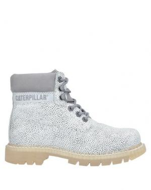 Полусапоги и высокие ботинки CATERPILLAR. Цвет: светло-серый
