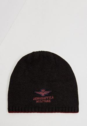 Шапка Aeronautica Militare. Цвет: черный