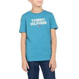 Футболка KB0KB04992 светло-синий TOMMY HILFIGER