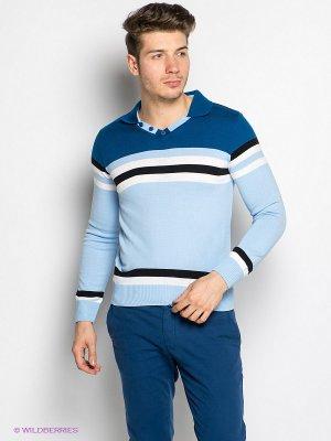 Пуловер Davani. Цвет: голубой
