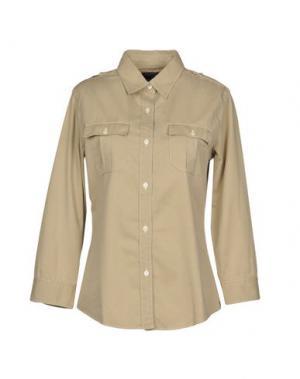 Pубашка POLO JEANS COMPANY. Цвет: бежевый