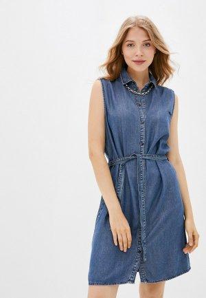 Платье джинсовое Diesel. Цвет: синий