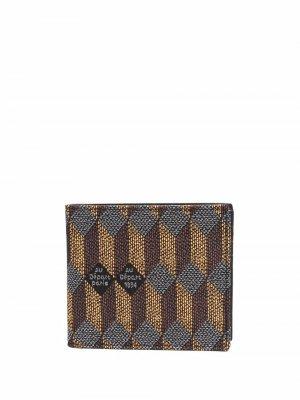 Бумажник с геометричным принтом Au Départ. Цвет: оранжевый
