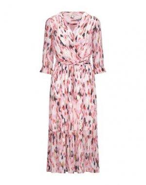 Платье длиной 3/4 GARCIA. Цвет: светло-розовый