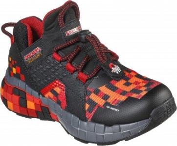 Кроссовки для мальчиков Mega-Craft, размер 33 Skechers. Цвет: черный