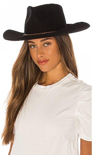 Шляпа jenkins Brixton. Цвет: черный