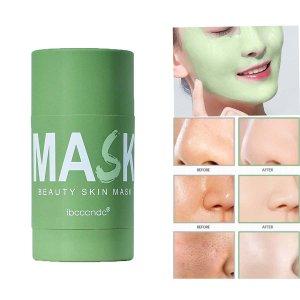 Увлажняющее очищающее средство для лица SHEIN. Цвет: мятно-зеленый
