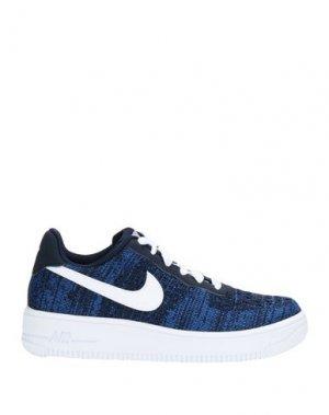 Низкие кеды и кроссовки NIKE. Цвет: синий