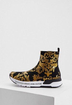 Кроссовки Versace Jeans Couture. Цвет: черный
