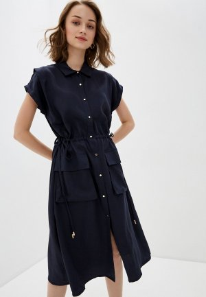 Платье Bulmer. Цвет: синий