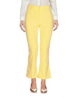 Повседневные брюки ATOS LOMBARDINI. Цвет: желтый