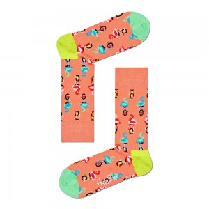 Flamingo Socks Happy. Цвет: красный