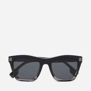 Солнцезащитные очки Cooper Burberry. Цвет: чёрный