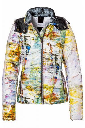 Куртка Jet Set. Цвет: мультицвет