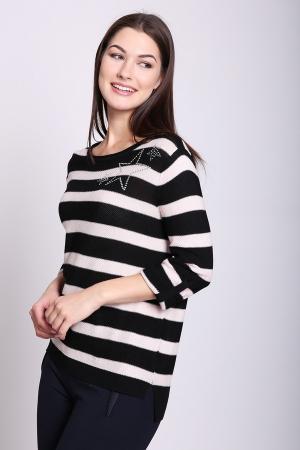 Пуловер Pezzo. Цвет: разноцветный