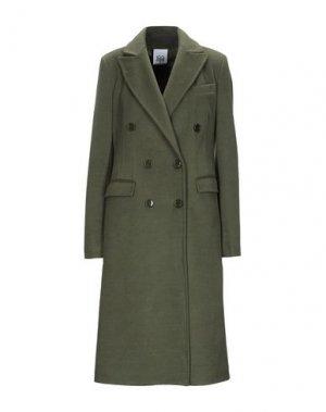 Пальто JIJIL. Цвет: зеленый