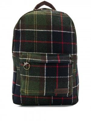Рюкзак с накладным карманом Barbour. Цвет: зеленый