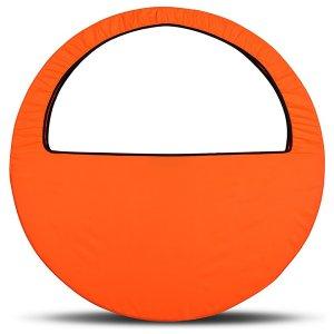 Чехол-сумка для обруча, диаметр 60-90 см, цвет оранжевый Grace Dance
