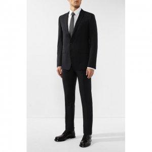 Шерстяной костюм Dolce & Gabbana. Цвет: серый