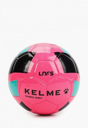 Мяч футбольный Kelme OLIMPO SPIRIT TRAINING LNFS. Цвет: розовый