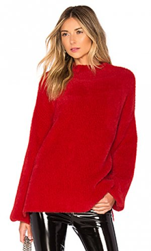 Пуловер kyla LAcademie L'Academie. Цвет: красный