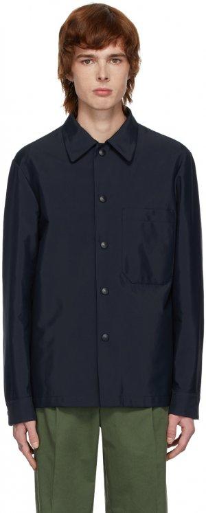 Navy Marotta Shirt Jacket Barena. Цвет: 170 navy